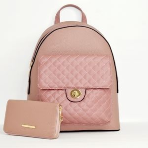 Rose' Leather Backpack